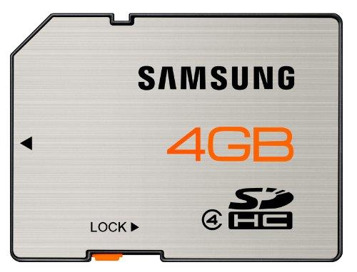 Samsung SDHC 4GB Class 4 Speicherkarte (MB-SS4GAEU)