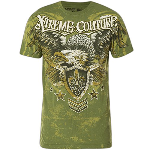 Xtreme Couture by Affliction T-Shirt Normandy Grün Türkis