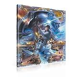 Wallsticker Warehouse Star Wars Leinwand Bilder (PPD693O1FW) Size O1-100cm x 75cm - 230g/m2 Canvas - 1 Piece