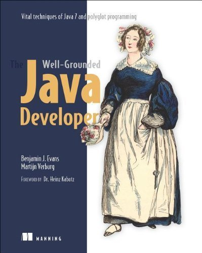 The Well-Grounded Java Developer: Vital techniques of Java 7 and polyglot programming: Java 7 and Polyglot Programming on the JVM by Benjamin J Evans (2012) Paperback thumbnail