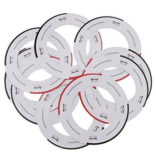 10pcs Calentador De Cera Anillo De Collares De Protección Universal Para 14oz Wax Calentador Olla