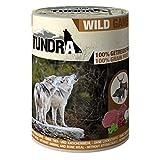 Tundra Hundefutter Wild - Nassfutter (6 x 400g)
