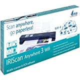IRIScan Anywhere 3 Wi-Fi Scanner Portatile per Documenti Sincronizzabile con Qualsiasi Dispositivo Tramite Wi-Fi