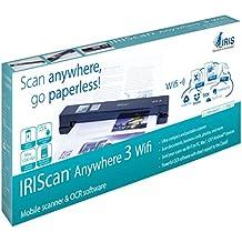 IRIScan Anywhere 3 Wi-Fi Scanner Portatile per Documenti Sincronizzabile con