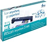 IRIS 458129 Anywhere 3 WiFi IRIScan Scanner (1200x1200 dpi, USB) schwarz