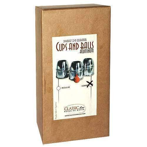 SOLOMAGIA Cups & Balls w/Chop Cup Alum.Combo Pack by Bazar de Magia - Close-Up Magic - Zaubertricks und Props - Chop Cup Balls