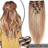 Extension a Clip Cheveux Naturel Maxi Volume - Double Weft Extensions de Cheveux...