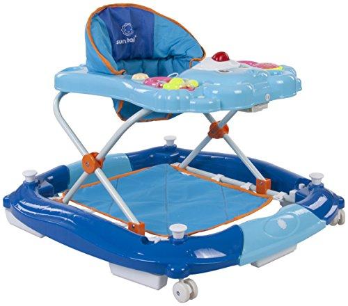Sun Baby Bear - Andador para bebé, color azul