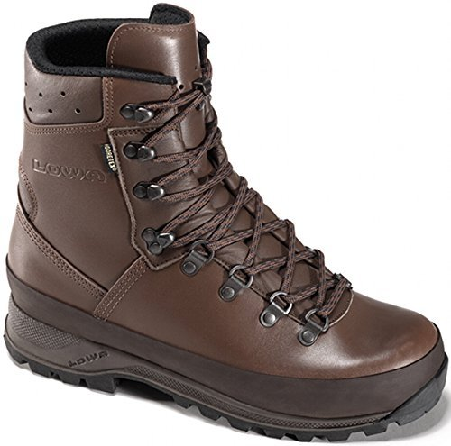 Lowa Mountain GTX Military Boots Marron