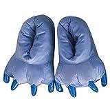 Animal Garra Unisex Invierno Espesar Calido Zapato Zapatilla Adulto, Azul L (EU 39-45)