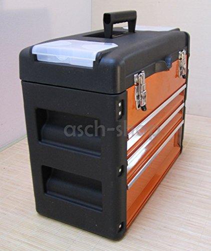 METALL Werkzeugkiste mit 7 Funktionen 3061BC von AS-S - 6