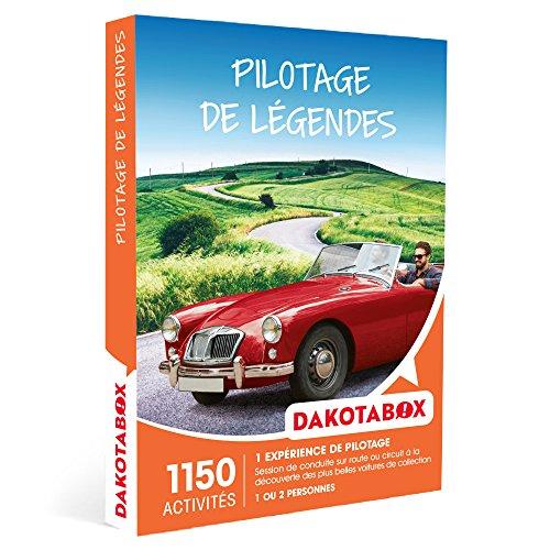 DAKOTABOX - Coffret Cadeau - PILOTAGE DE LÉGENDES - 1150 activités : voitures...