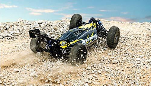 Carson 500409092 500409092-1:8 FY8 Buggy Destroyer 2.0 4S RTR, Ferngesteuertes Auto, RC-Fahrzeug, inkl. Batterien und Fernsteuerung, schwarz*
