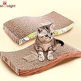 S Typ Pet Cat Kätzchen Scratch Kratzbaum Seize Catch Board Pad Matte Katzenminze Bett Pet Cat Praktische Spielzeug für Funny