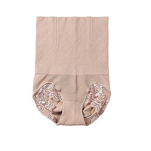 Fzmix Women High Waist Stretch Slim Panties Belly Hips Control Briefs Shaper Underwear
