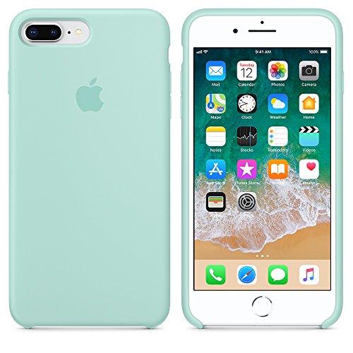 Funda iPhone 7Plus/8Plus Carcasa Silicona Suave Colores