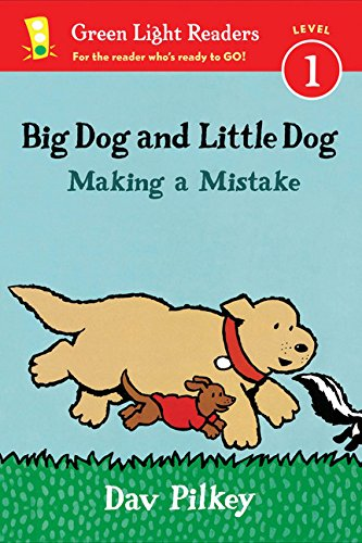 Big Dog and Little Dog Making a Mistake (reader) (Green Light Reader - Level 1 (Quality))
