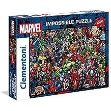 Clementoni 39411Marvel Universe–Impossible Puzzle, 1000Piezas