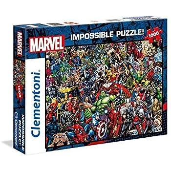 Clementoni Pièces Puzzle 1000 39411 Impossible Universe Marvel F1clKJ