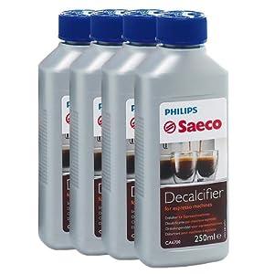 Saeco Entkalker Konzentrat für Kaffeemaschine Espressomaschine 250ml, 4er Pack