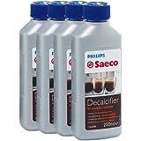 Saeco - Líquido antical para cafeteras (250 ml, 4 unidades)