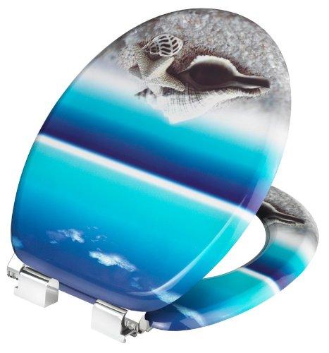 Cornat KSDSC534 Snail Blue WC-Sitz Absenk Dekor