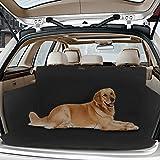 Topist Kofferraumschutz Hunde,Wasserdicht Hundedecke Auto,Rutschfest Kofferraumdecke mit Seitenschutz,Autoschondecke für Hunde,Schützt Auto Suv vor Kratzern,Schmutz und Tierhaaren - 61