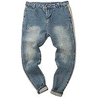 Geili Jeanshose Herren Übergröße Lang Jeans Hosen Herbst Used Look Wasserwäsche Slim Fit Skinny Cargo Hose Männer... preisvergleich bei billige-tabletten.eu