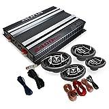 auna 4.0 Car Hifi Set Platin Line 440 Verstärker Box