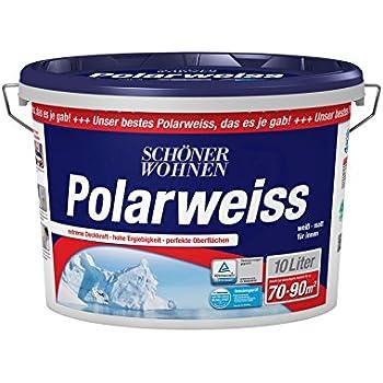 Sch ner wohnen farbe innenfarbe polarwei 10l for Schoner wohnen polarweiss 10 l