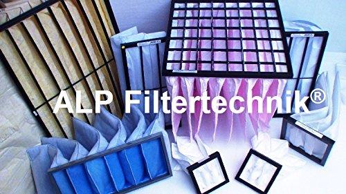 Taschenfilter 592x592x360 G3 / G4 Beutelfilter Bagfilter Luftfilter Filterbeutel Universal Vorfilter für versch. Anwendungen Gastronomie Filterbox Lackierbox u.v.m. -
