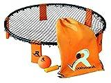Rebound Ball Spiel set - 3 Bälle, Kordelzug, Pumpe und Regeln - Perfekt für Frühling und Sommer