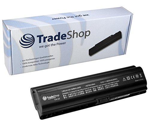 Hochleistungs Li-Ion Laptop Notebook Akku 8800mAh für Hewlett Packard HP DV6190 DV6200 DV6210 DV6300 DV6500 DV6600 DV-6190 DV-6200 DV-6210 DV-6300 DV-6500 DV-6600 DV6190EU DV6191EU DV6195EA DV6500T (Laptop Akku Dv6500)