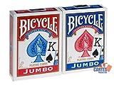 US Playing Card Company - Pokerkarten - Bicycle Jumbo Index