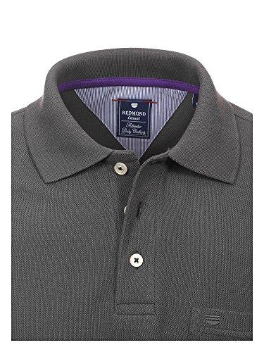 REDMOND Herren Poloshirt 900 100% Baumwolle Dunkelgrau