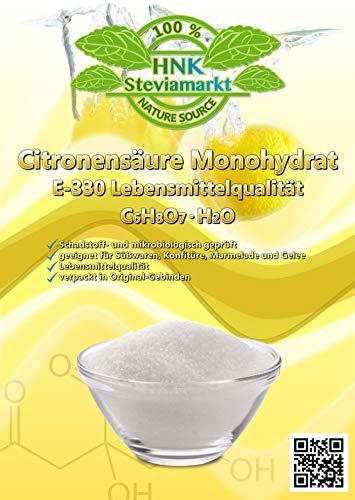Zitronensäure 1Kg vielseitig einsetzbar im Haushalt - Entkalker - Säuerungsmittel - Lebensmittelzusatz E330 - Haushaltsreiniger - Umweltschonend -