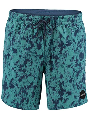 O'Neill Herren Thirst For Surf Shorts Boardshorts green aop w/ blue