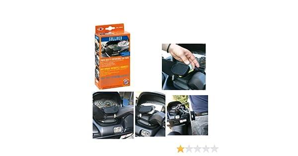 90264 Support pour t/él/éphone Portable de Poignet Lampe Compatible avec Suzuki Burgman 400 IE imperm/éable Noir