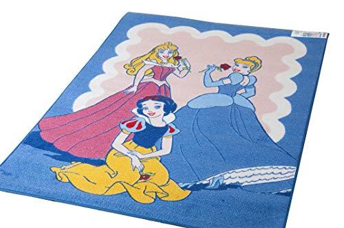Lancashire Textiles Disney Spielmatte,Educational Alphabet, 95 x 133 cm, VariousDesigns Playmatsverschiedene Designs erhältlich Princess Trio Blue -