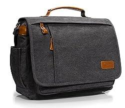 Estarer Umhängetasche 14 Zoll Laptoptasche Messenger Bag für Alltag Sport Reise