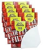 Wei? 10 Box-Set # 15001 [4-7] Leute f?r 40 St?ck Kalita 103 Filterkaffeefilter aus Papier (Japan-Import)