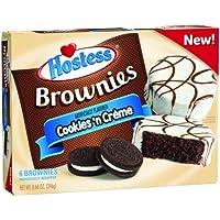 Hostess Cookies n Creme Brownies - 246g - 6 Pack - Cookies and Cream …