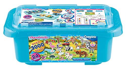 Aquabeads 31599 - Fun Safari Box (Beados Perlen)
