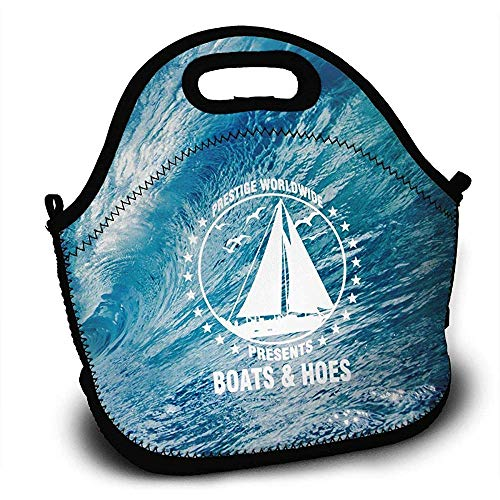 Sport Taschen,Boats N Hoes Prestige Lunch Bag Tote Lunchbox With Handle Strap