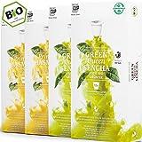 4 x 10 capsule di tè biologiche compatibili Nespresso - Confezione di tè verde, 40 capsule, 2 varietà, senza alluminio e senza plastica di My-TeaCup