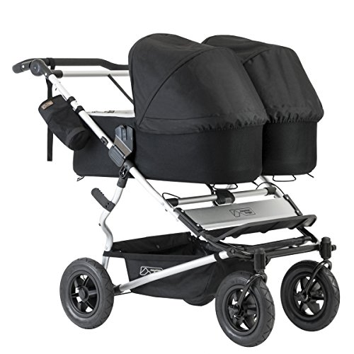 Mountain Buggy Evolution Duet Flint inkl. Regenschutz - 13