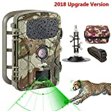 Wildlife Trail Camera Trap 1080P 12MP No Glow Infrared Night Vision Motion Activated