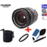 Bundle Fujifilm XF-18-55mm f2.8-f4 OIS Lens + 58mm UV Lens Filter + Lens Pouch + Lens Cleaning Kit (suitable for X-Pro2 XPro2 X-A1 XA1 X-A2 XA2 X-E1 XE1 X-E2 XE2 X-M2 XM2 X-T1 XT1 X-T10 XT10)