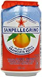 Sanpellegrino Aranciata Rossa Blood Orange 6 x 33 cl (Pack of 4, Total 24)