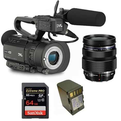 Kit Camcorder GY-LS300 JVC 4K Ready CMOS super35 - Ultra